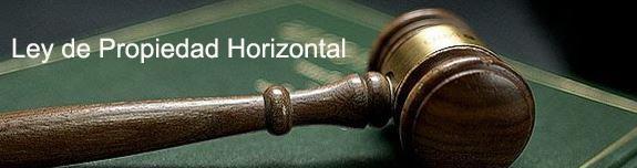 Ley de Propiedad Horizontal